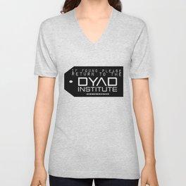 If found Return to the DYAD Unisex V-Neck