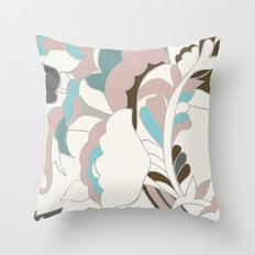 Color Blocking Shapes Throw Pillow