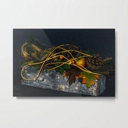 Autumn decoration Metal Print