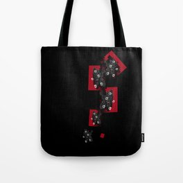 Chinese wall flowers Tote Bag