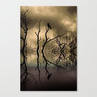 twilight Canvas Prints featuring Twilight by Shalisa Photography