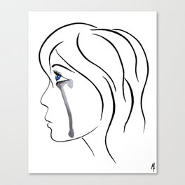 Teardrop Canvas Print