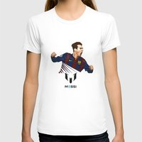 messi T-shirts featuring Lionel Messi by Just Agung