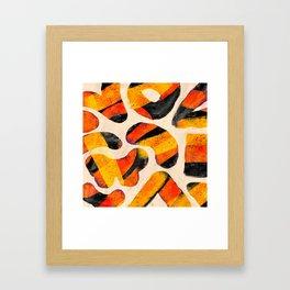 Pattern № 38 Framed Art Print