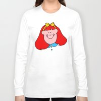 redhead Long Sleeve T-shirts featuring Redhead Rules by 2cute