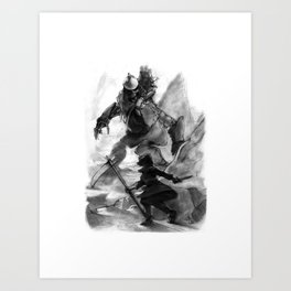 Connie and the Giant Art Print