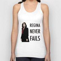 regina mills Tank Tops featuring Regina never fails by Geek World