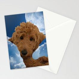 Dog Golden Doodle Stationery Cards