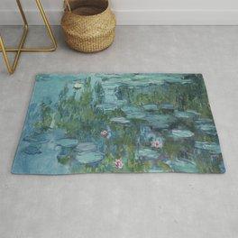 Nymphéas, Claude Monet Rug
