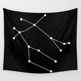 GEMINI (BLACK & WHITE) Wall Tapestry