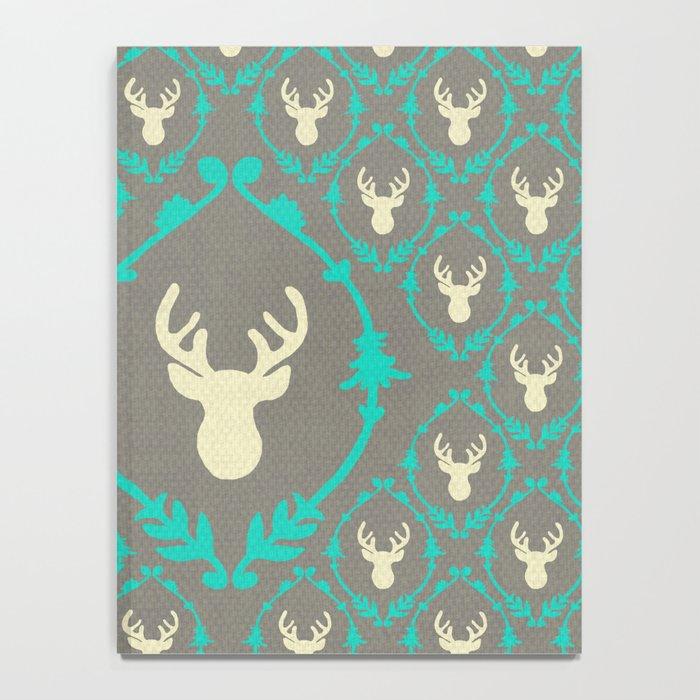 Oh Deer (white) Notebook