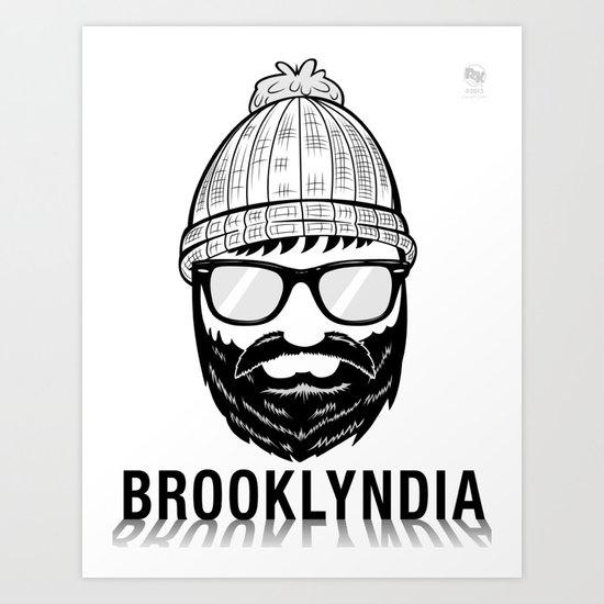 Brooklyndia 2 Art Print