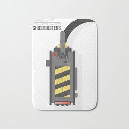 Ghostbusters poster, BIll Murray, Peter Venkman, Harold Ramis, Ghost trap, Ivan Reitman, alternative film print Bath Mat