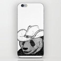 Cowboy Panda iPhone & iPod Skin
