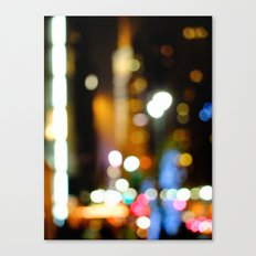 '42nd STREET'S BRIGHT LIGHTS' Canvas Print