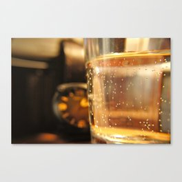 A Cup and The Time Canvas Print