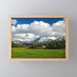 Kirkwood Mountain Resort, Eldorado National Forest, California Framed Mini Art Print