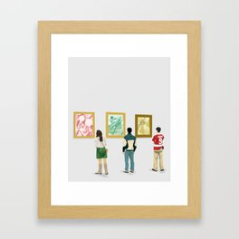 Ferris Bueller at the Art Museum Framed Art Print