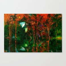 Strange Lake Canvas Print