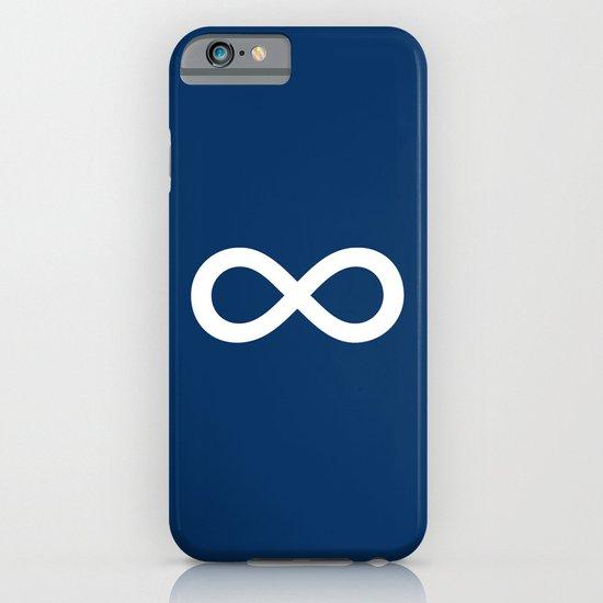 Navy Blue Infinity iPhone & iPod Case
