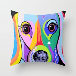 Dachshund 2 Throw Pillow