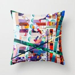 Antonsen (stripes 20) Throw Pillow