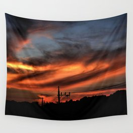 Smoke and Fire Wall Tapestry
