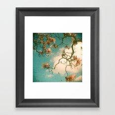Magnolia Falls Framed Art Print