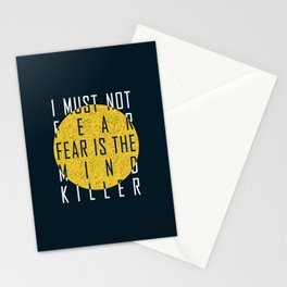 Dune - The Litany Against Fear (WHT) Stationery Cards