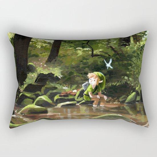 Hey! Rectangular Pillow