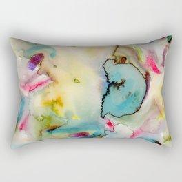 green absstract Rectangular Pillow