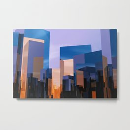 Q-City One Metal Print