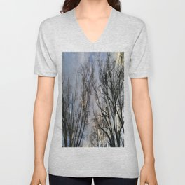 Branched Out Unisex V-Neck