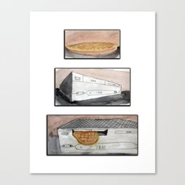 Food Channel Canvas Print