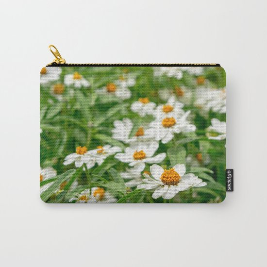 Take Me Where the Flowers Bloom Carry-All Pouch