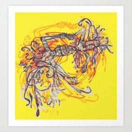 For A Reach Art Print