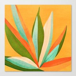 Summer Cactus Canvas Print