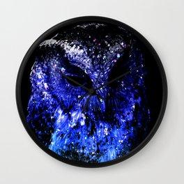 Starlight Owl Wall Clock