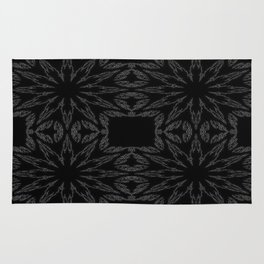 Slate Gray Colorburst Rug
