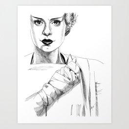 The Bride #2 Art Print