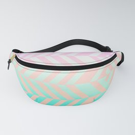 Chevron pattern Fanny Pack