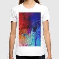horses T-shirts featuring Horses  by Latidra Washington