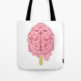 Popsicle brain melting Tote Bag