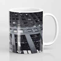 theatre Mugs featuring Paramount Theatre by Benjamin Hunter