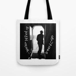 So long Montreal... Leonard Cohen Tote Bag