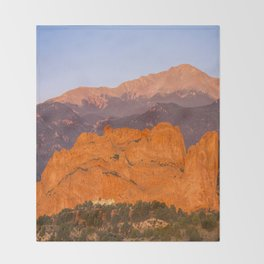 Beautiful Kissing Camels Colorado Spring Throw Blanket