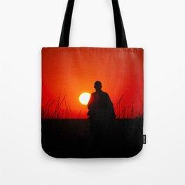 Shaolin monk Tote Bag