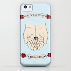 Beauty is in the eye of the bee holder iPhone 5c Slim Case