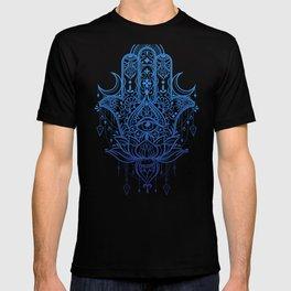 Hamsa Lotus Hand T-shirt