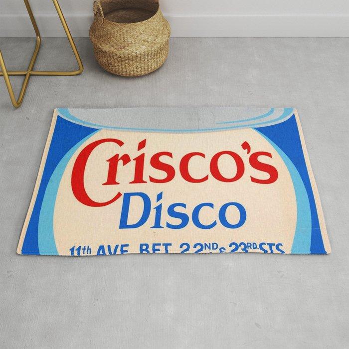Crisco's Disco Rug